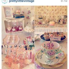 pintrist wedding shower themes | Vintage bridal shower | Party Ideas