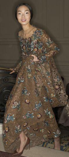 Valentino Haute Couture Spring 2014 - Backstage