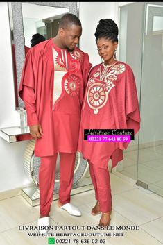 Couture, Beautiful Couple, Sari, Mens Fashion, Couples, Collection, African Men, African, Outfit