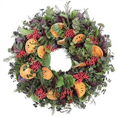 Wreaths For Door - Quince And Pepperberry Autumn Wreath, $79.99 (http://www.wreathsfordoor.com/quince-and-pepperberry-autumn-wreath/)