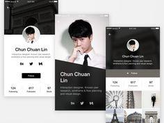 DailyUI #005 User Profile
