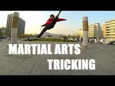 "Andy Le ""Foot Fist Way"" Korea Martial Arts Tricking Samper"