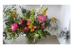 """This bouquet is singing """"pass the dutchie on the left hand side"""" it's having a great old time."""