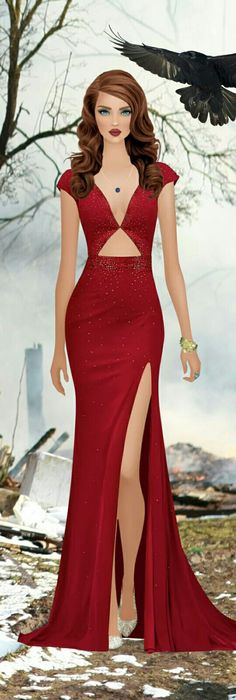 Kingdom on fire Glam Dresses, Elegant Dresses, Cute Dresses, Beautiful Dresses, Fashion Dresses, Covet Fashion Games, Fashion Art, Fashion Looks, Womens Fashion