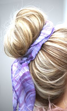 How To Style Your Hair Toffee Hair  Pinterest  Bad Hair Dolls And Braided Top Knots