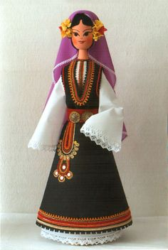 Dress from Etropole, by Silvia Ivanova