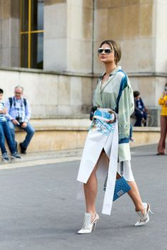 131 chic outfit ideas to copy from the street style scene at last week's Paris Couture Week:
