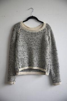 Emma Sweater inspiration de gros pull douillet avec une belle maille