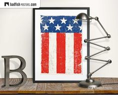 Us Flags, Do It Yourself Furniture, Home Of The Brave, Alternative Movie Posters, In God We Trust, Frame It, Cool Posters, Red And White, Cities