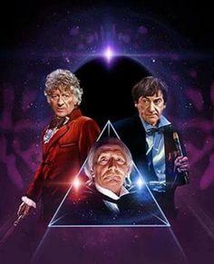 The Three Doctors.