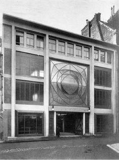 garaż przy ul. ponthieu auguste perrent  Paryż, Auguste Perret 1905