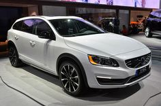Volvo gives its V60 wagon the tried-and-true off-road treatment, revealed live at the 2014 LA Auto Show.  For taking the kids around town :)