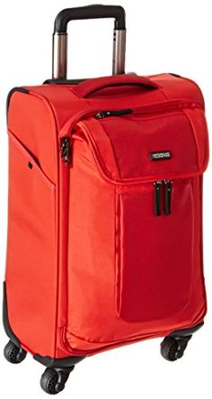 American Tourister Have A Ball Spinner 20 Inch Red One Size * Check out the image by visiting the link.