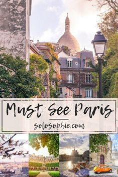 Must See Paris: Districts, arrondissements, and attractions in Paris (the French capital) that you won't want to miss on a visit to the city of love. Your ultimate guide to the best arrondissements in Paris, France.