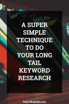 Struggling with your long tail keyword research? Then learn how to do Long Tail Keyword Research using a Simple and Easy Technique and master long tail keyword research just like how we do it. Keyword research Seo Marketing, Content Marketing, Digital Marketing, Affiliate Marketing, Online Marketing, Business Tips, Online Business, Business Entrepreneur, Keyword Planner