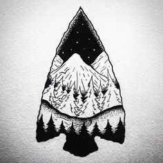 'There was nowhere to go but everywhere, so just keep on rolling under the stars.' A reminder to look up. I hope your all having a great day.  • • • • • • #illustration#design#art#creatives#outdoors#hiking#sky#mountain#fore#stars#river#stream#arrowhead#2017#betheadventure#drawing#tattoo#flash#artwork#blackwork#beautiful#graphicdesign#travel#gooutside#selflove#kindness#vsco##adventure#explore#letsgetlost