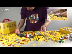 Watch the LEGO Speedcuber being built from scratch! This robot was seen recently on the BBC programme 'Made in Britain' as part of a feature on ARM. Clean Suede Shoes, How To Clean Suede, Fix Broken Makeup, Lego Engineering, How To Grow Lemon, How To Remove Glue, Get A Boyfriend, Lego Mindstorms, Lego Robot