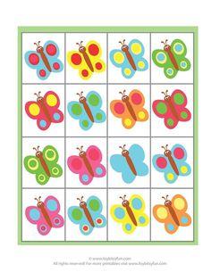 File Folder Games, Bullet Journal Art, Art For Kids, Preschool, Clip Art, Butterfly, Printables, Education, Cards