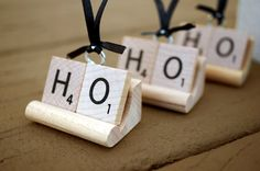 Scrabble® Ornament Personalized for Christmas | Any Word Name Letters (price…