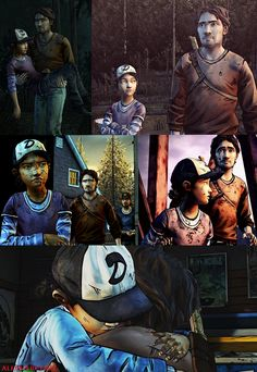 The Walking Feels by TellTale Games : Luke and Clem