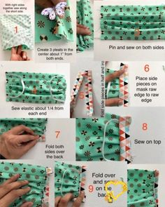 How to sew a face mask | The Stitching Scientist  <br> Learn how to sew a face mask with this easy to follow tutorial. This face mask pattern is a must have for your for your family and friends during this time. Sewing Patterns Free, Free Sewing, Free Pattern, Sewing Tips, Sewing Tutorials, Sewing Hacks, Quilt Patterns, Pocket Pattern, Doll Patterns