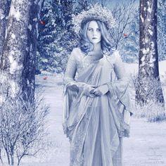 Lady Winter by CherishedMemories.deviantart.com