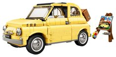 "LEGO Celebrates the Iconic Fiat 500 in New Creator Expert Release: Embrace ""La Dolce Vita. Models Men, Lego Models, Ford Mustang Fastback, Lego Creator, The Creator, Bugatti, Fiat 500 Models, Aston Martin Db5, Modele Lego"