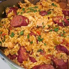 I often make this dish for potlucks and always come home with an empty dish.  It is economical and easy to make.  Not only that, but it is delicious and will have everybody asking you for the recipe
