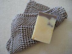 "eLoomanator's Diagonal Knit Dishcloth...variation on ""Grandma's Favorite.""  Free pattern!"