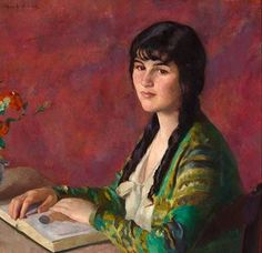 It's About Time: Women by Russian-born American Ivan Gregorewitch Olinsky 1878-1962