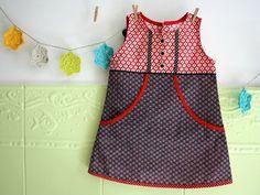 robe trapèze à grandes poches