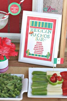 Hostess with the Mostess® - 5 de Mayo Party Ideas Fiesta Theme Party, Taco Party, Nye Party, Party Time, Party Fun, Mexican Dinner Party, Nacho Bar, Salsa, Christmas Eve Dinner