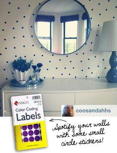 instagram-color-code-sticker-dot-wall