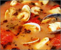 Sandra's Alaska Recipes: STEVE'S INCREDIBLE WILD ALASKA SEAFOOD STEW