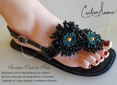 sandalias Cristal de Nieve ( Amanda)