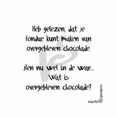 #chocolade