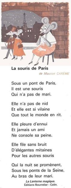 La Souris de Paris song