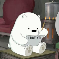 "834 Likes, 32 Comments - We Bare Bears (@webarebears.official) on Instagram: ""Tag someone you would send this note to """