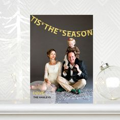 Seasoned With Love - Flat Holiday Photo Cards - Tallu-lah - Dijon - Yellow : Front