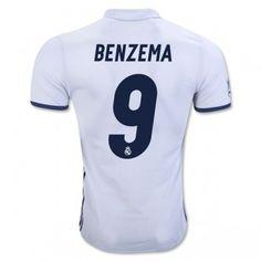 Real Madrid 16 17 #Navas 1 Blå Målvakt Tröja Kortärmad