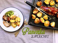 Pečená vepřová panenka - Kuchařka pro dceru Pork Meat, Potato Salad, Steak, Potatoes, Treats, Chicken, Cooking, Ethnic Recipes, Food
