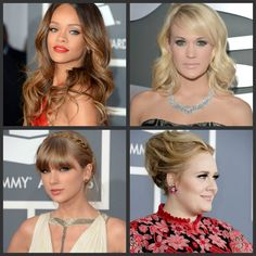 STYLABL Grammy Hair and Makeup
