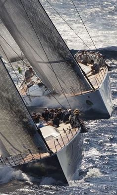 Sailing regatta | #racing #yachts #nautical | www.notjustpowder.com