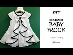 New diy baby sewing patterns stitches ideas Baby Girl Frocks, Frocks For Girls, Baby Girl Dresses, Baby Girl Dress Patterns, Baby Dress Design, Baby Design, Kids Frocks Design, Baby Frocks Designs, Diy Clothes Patterns