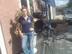 August 26th, 2012. Recording a pitch for the (now in development, hitting the market in the near future) smartphone app that alerts home when you've fallen off your horse.  Filmed in the stables of Griftenstijn in De Bilt.