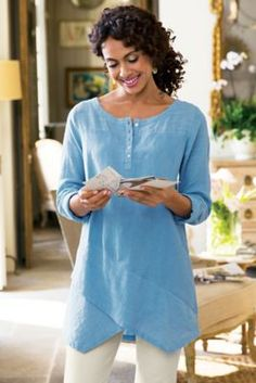 Breezy Nights Tunic I from Soft Surroundings