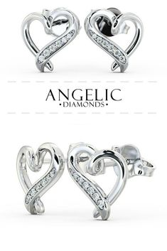 603d6501d Looking for some new stud earrings? Check out #AngelicDiamonds and snap up  these beautiful
