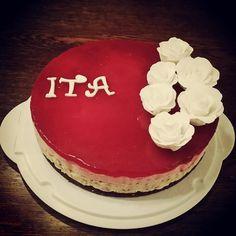 Mit bidrag til vores kagefestival på arbejdet :)