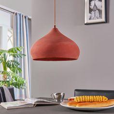 44,90  Terracotta-Pendelleuchte Fiona in schöner Form sicher & bequem online bestellen bei Lampenwelt.de.