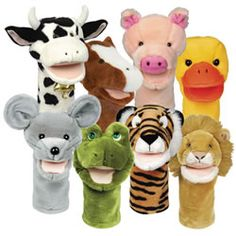 animal puppets - Buscar con Google